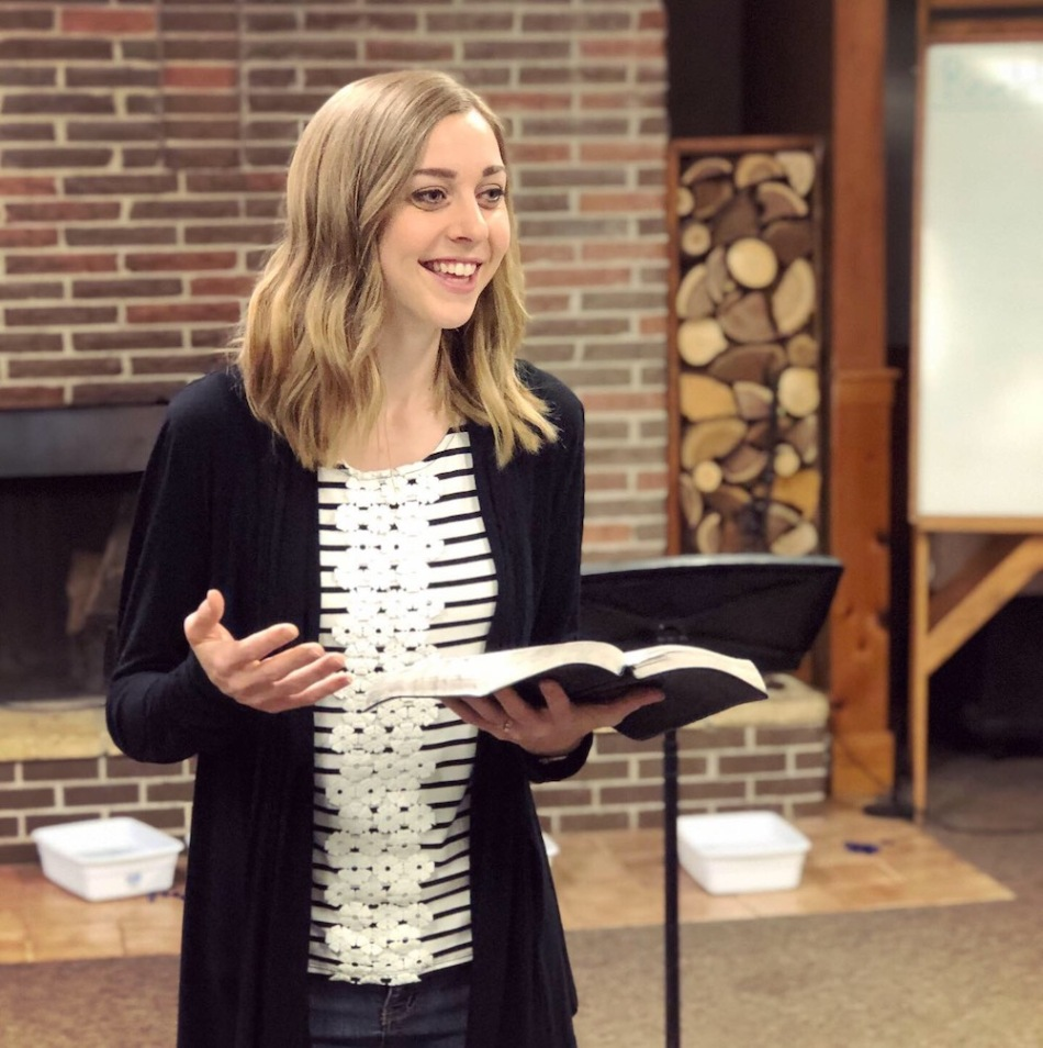 Kirsten Elsa Speaking